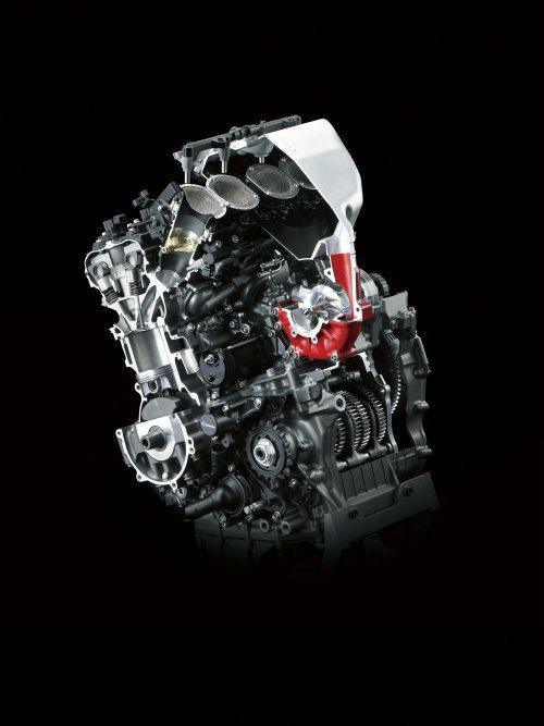 Kawsaki Ninja H2運用量產車首次出現的渦輪增壓引擎,是2015年國...