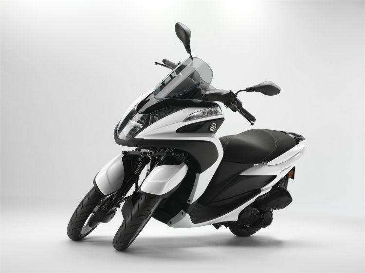 Yamaha TRICITY是熱門的3輪車款之一,排氣量125c.c.設定為都會...