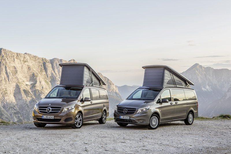 V-Class衍生的頂級豪華露營車Marco Polo目前尚評估中,有可能引進。...