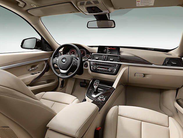 BMW 3系列Gran Turismo內裝延續旅行車的豪華鋪陳並有完整數位行動科...