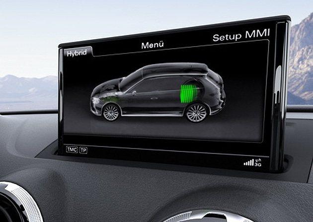 A3 e-tron油電綜效最大馬力達到204匹 Audi