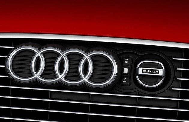 A3 e-tron的Plug-in充電口設在引擎蓋前端。 Audi