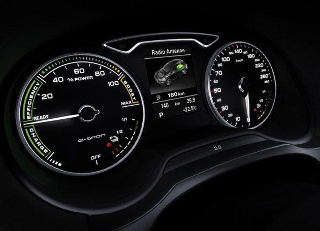 A3 e-tron純電力驅動最大航程50公里。 Audi