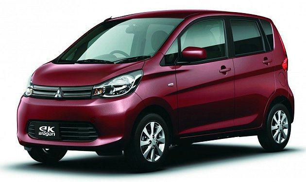 Nissan和Mitsubishi合力開發的迷你車eK Wagon。 NMKV