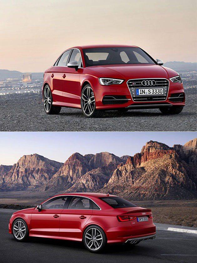 頂級性能車型S3 Sedan同場現身。 Audi