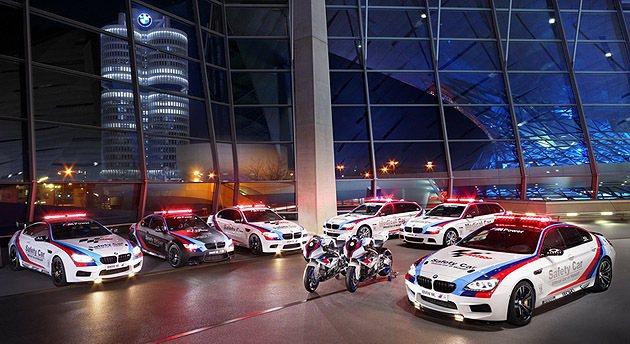 BMW M-Power大軍已經是Moto-GP的執法象徵。 BMW