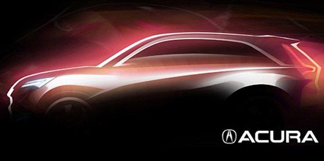 Acura也將推出概念車。 Honda