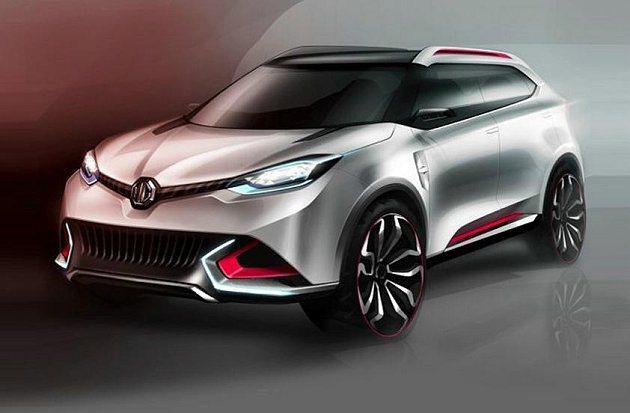 MG CS為都會SUV概念車。 MG