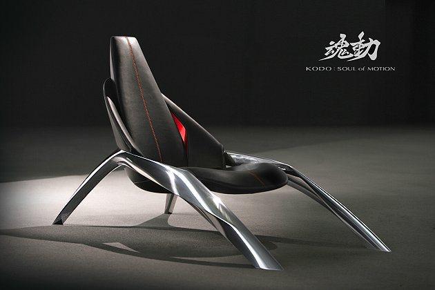 KODO魂動概念設計座椅,證明Mazda在設計工藝上的功力。 Mazda