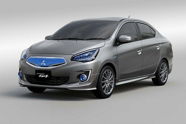 G4概念車在上個月的曼谷國際車展就已露臉過。 Mitsubishi