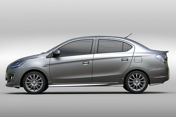 G4在整體視覺感不錯。 Mitsubishi