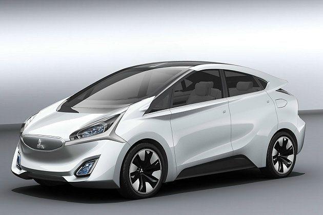 CA-MiEV概念車為一輛純電動車。 Mitsubishi