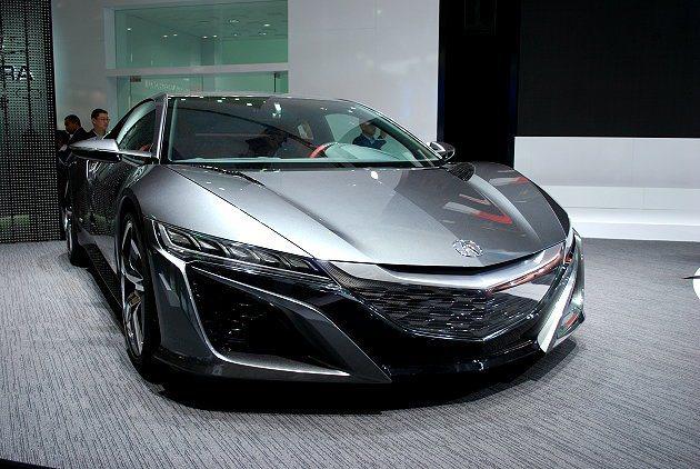 全新NSX也在上海車展同台展演。 趙惠群