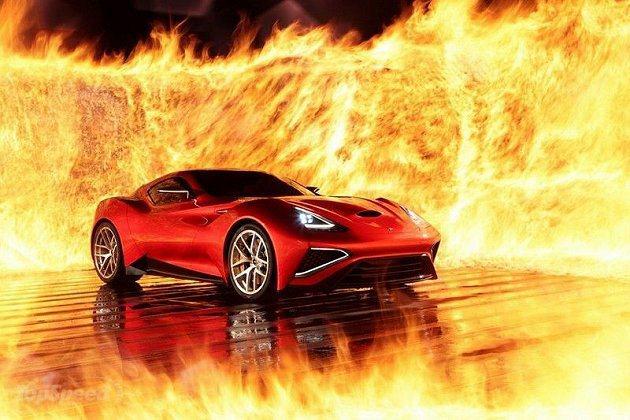 油電複合動力超跑Vulcano。 Icona