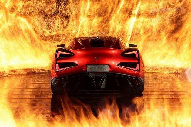 車側與尾部有點像Ferrari F12 Berlinetta與599的合體。 I...