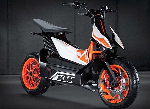 E-Speed遵循著KTM簡潔俐落的設計精神。 KTM