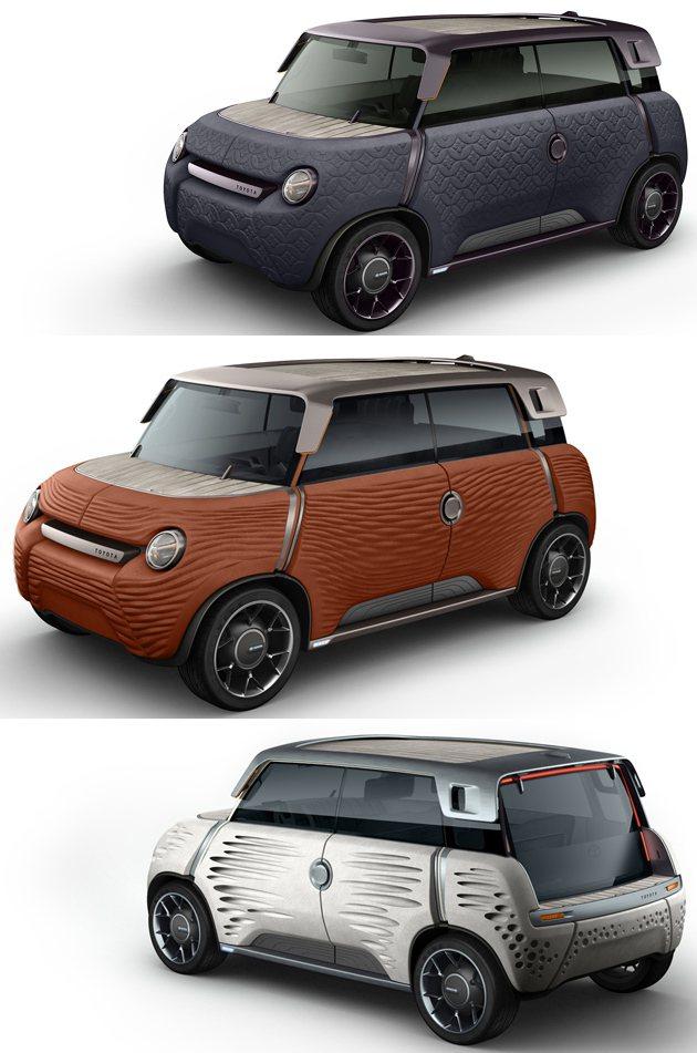 Me.We可更換車身鈑件,從另一個角度想還蠻符合預算考量的。 Toyota