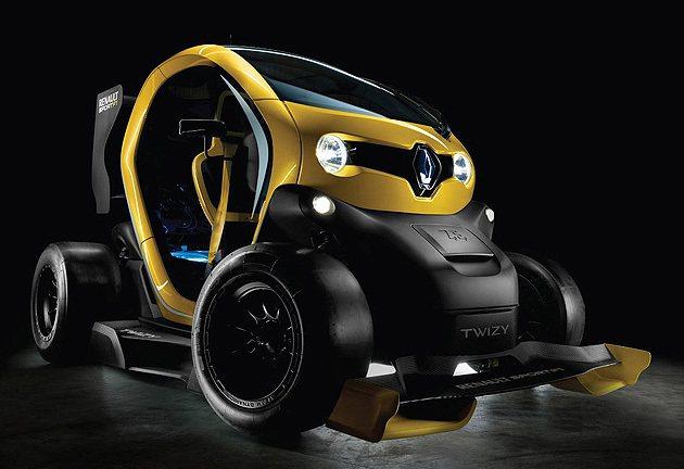Twizy Renault Sport F1有小巨人氣勢。 Renaultspo...