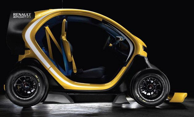 單人座艙,跟smart相似。 Renaultsport