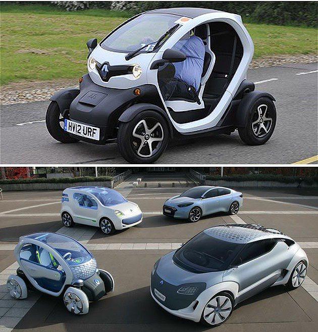 Twizy是Renault-Nissan的ZE電動車家族成員。 Renault