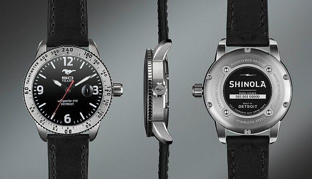 為了迎接Ford Mustang誕生50周年慶,福特汽車與美國手工錶製造商Shi...