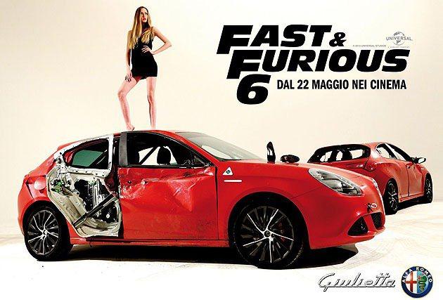 Alfa Romeo Giulietta在電影中有精彩的追逐戰。 Alfa Ro...