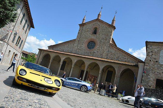 Lamborghini50週年慶典相當熱鬧有質感。 Lamborghini
