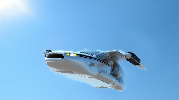 TF-X極速約322km/h,續航力達805公里。 Terrafugia