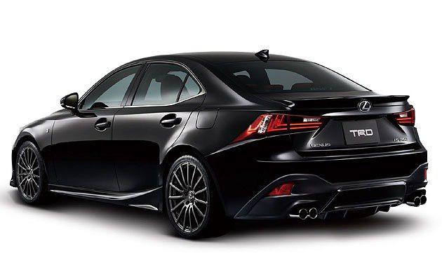IS車系因為TRD更具競技氛圍。 TRD