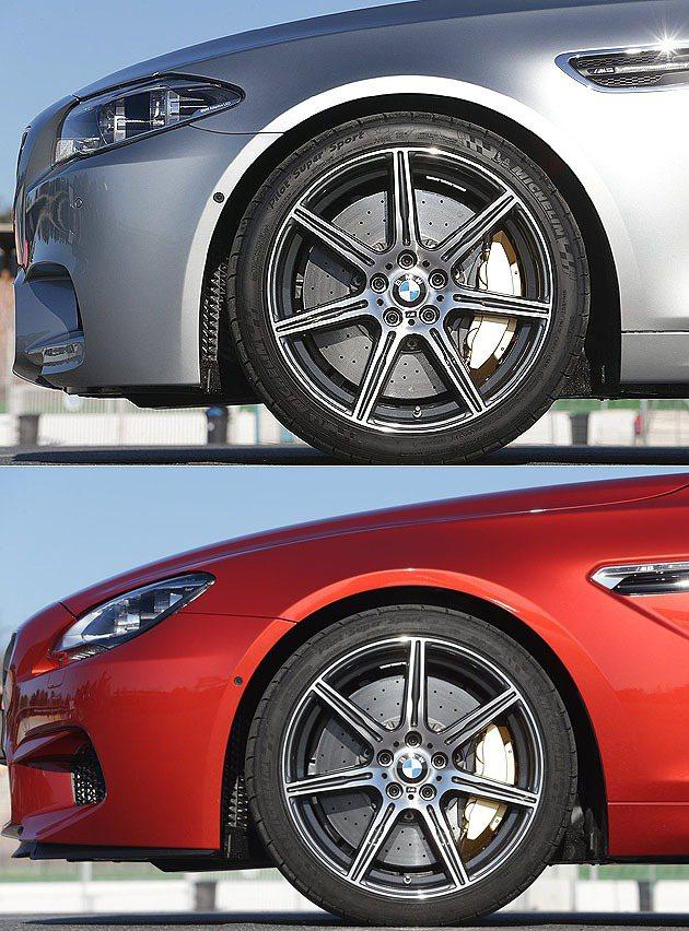 20吋M輕量化鍛造鋁圈。 BMW