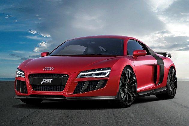 ABT Sportsline為Audi R8推改裝套件,在動力與外觀上都有提升。...