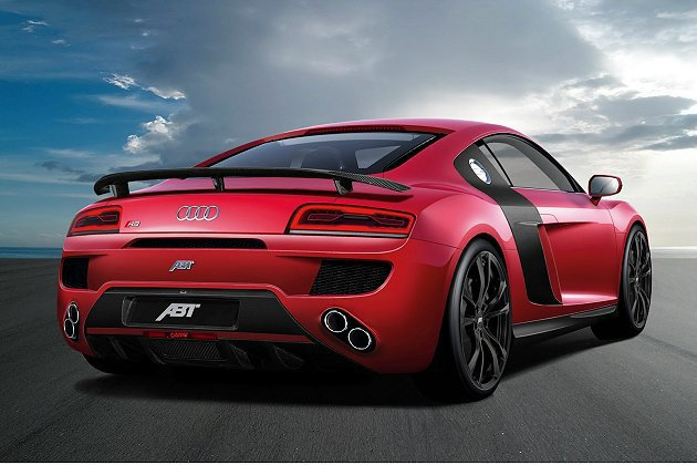 Audi R8從上市以來,ABT Sportsline就為它推出多款改裝套件。 ...