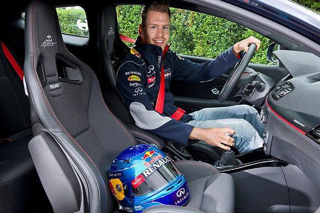 Sebastian Vettel親自測試。 Renault