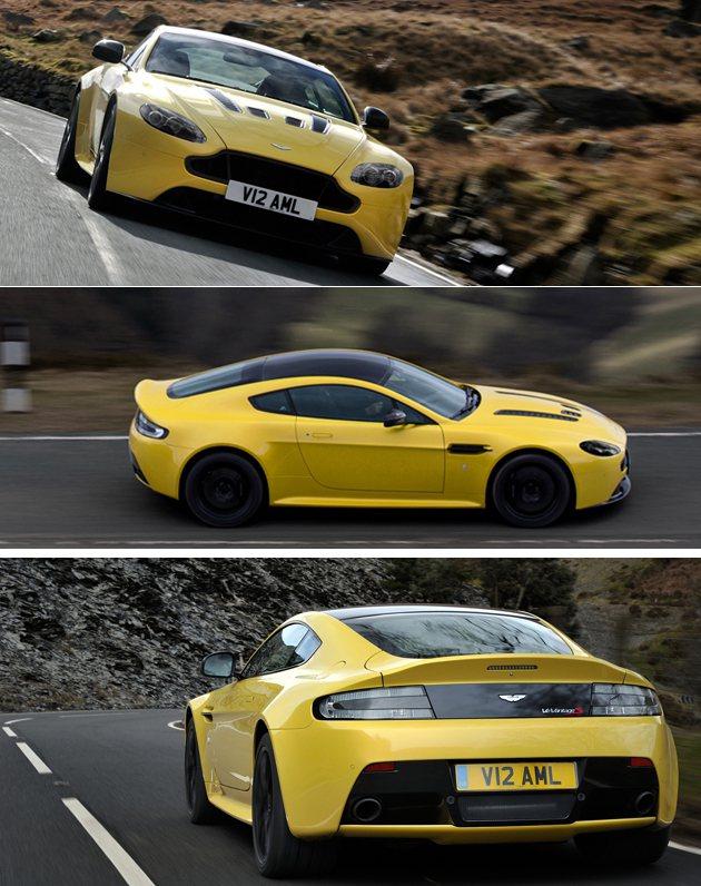 V12 Vantage S可在4秒內完成100km/h加速。 Aston Mar...