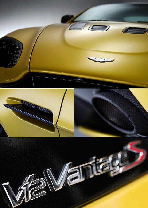 外觀細節並無太大變動,V12 Vantage S飾牌說明一切。 Aston Ma...