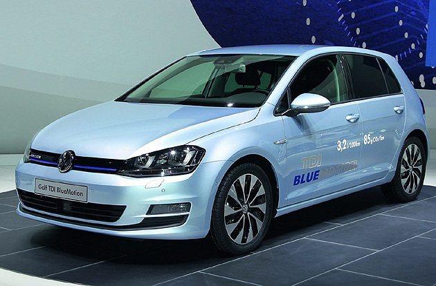 外觀空力套件有因應低風阻要求而修改。 VW