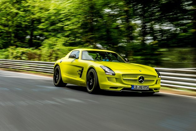 賓士SLS AMG Coupe Electric Drive時速0至100公里加...