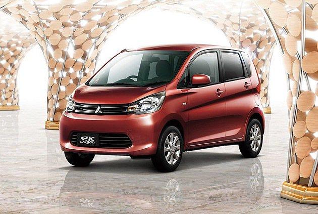eK Wagon是年輕女性為TA。 Mitsubishi