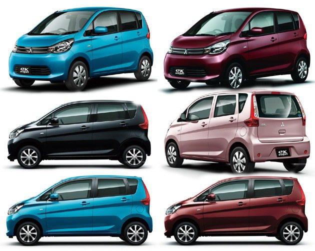 多色、年輕是K-Car必備。 Mitsubishi