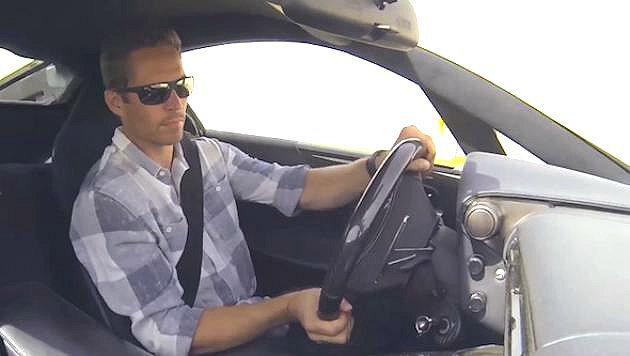 Lexus邀請保羅沃克試駕LFA。 Lexus