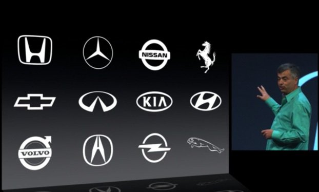 根據Apple表示,市面上95%的車款都將可以直接導入車載iOS系統。 Appl...
