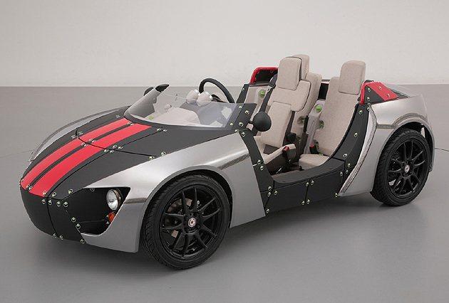 Camatte57s可以組裝為帥氣的Roadster跑車 Toyota