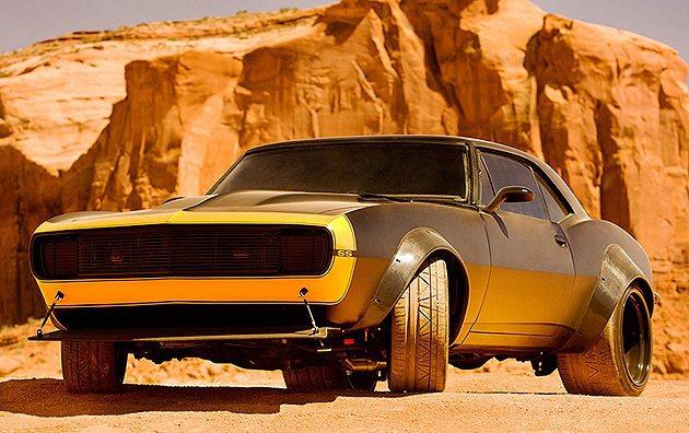 大黃蜂的復古造型,是第一代Camaro Michael Bay Co.