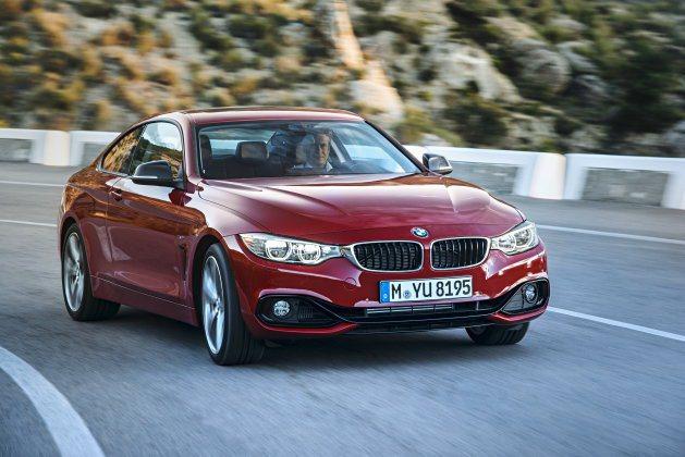 全新4 Series Coupe比3系列Coupe車格更大,且具更強烈的跑車風格...