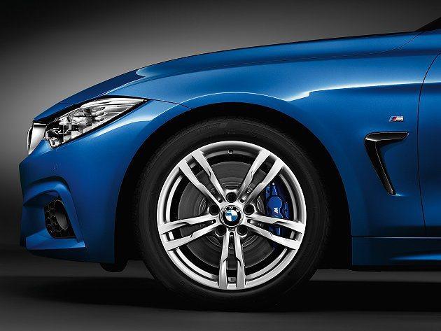 有六種不同風格造型的輪圈可供選擇。 BMW