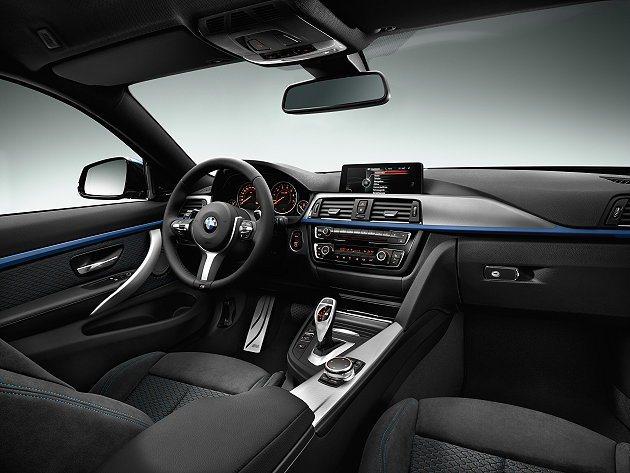 內裝有三種不同格內套件可供選擇,圖為真皮與麂皮組合。 BMW