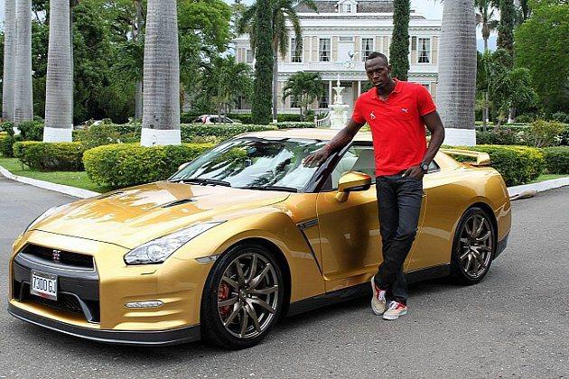 波特的GT-R金色戰駒。 Nissan
