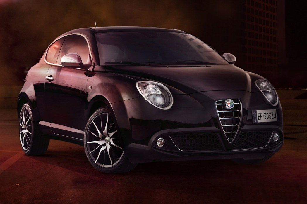 整體造型具圓潤感。 Alfa Romeo