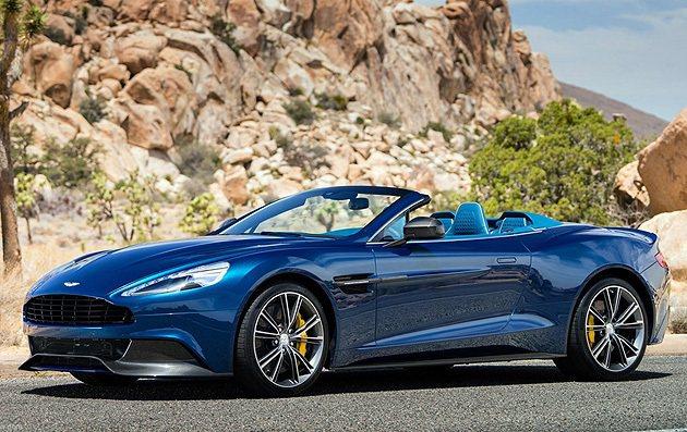 Vanquish Volante全身碳纖維鈑件,是品牌百年之最。 Aston M...