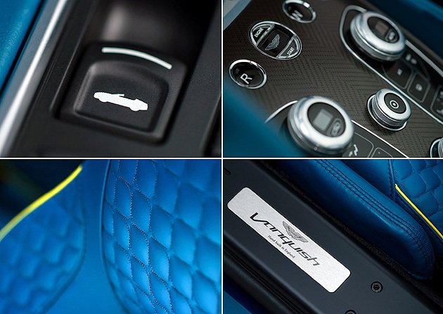 內裝細節,質地依然是如此夢幻。 Aston Martin